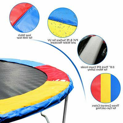 Multi Color Trampoline Pad Foam Spring Cover Replacement