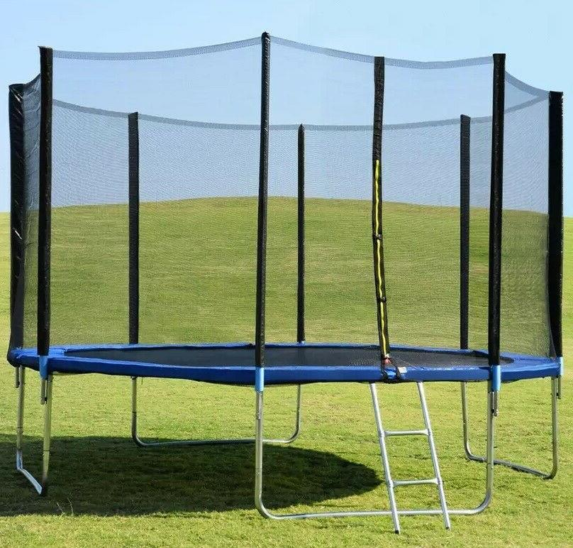 14 trampoline with safety enclosure net