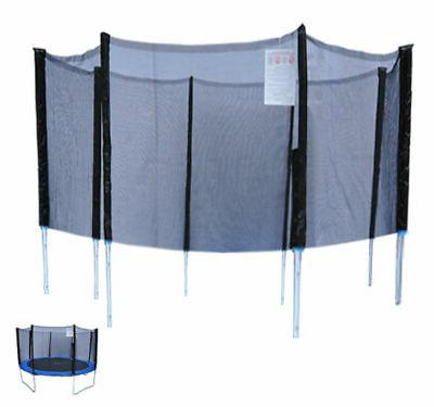 14ft trampoline net enclosure trampolining bounce safety