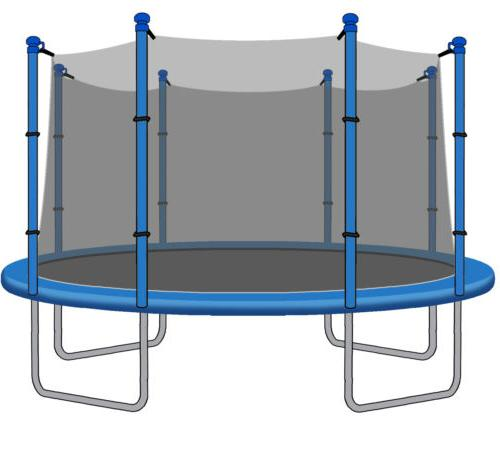 15ft trampoline net for trampolines with 8