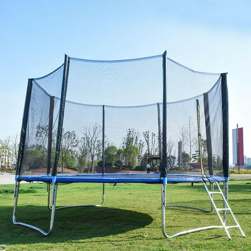1PC 12FT Bounce Net w/Spring Pad Lad Funs