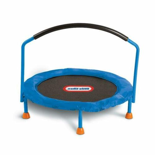 3 trampoline with safety bar