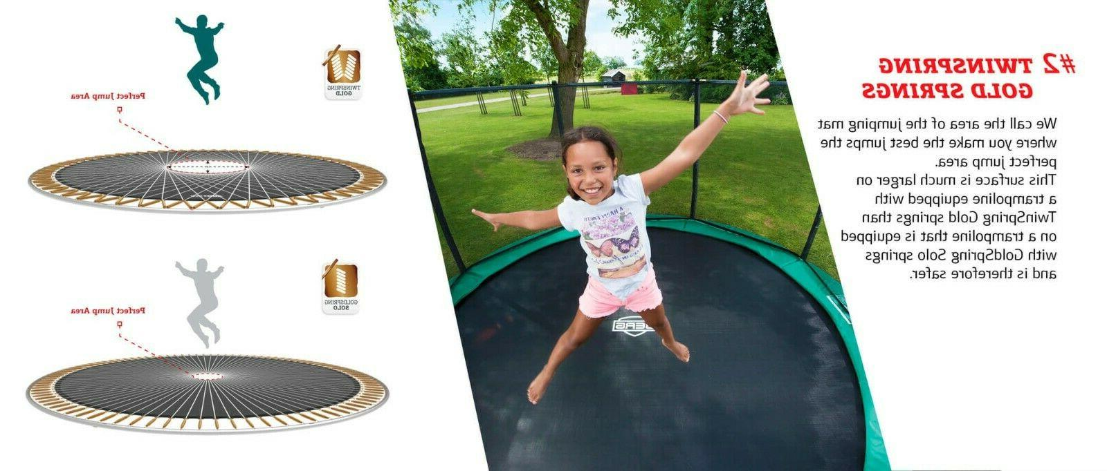 Berg Champion Trampoline +Safety Deluxe