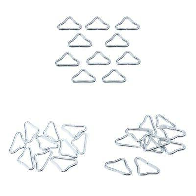 30 Pieces Triangle Rings Buckle Loop Ring for Trampoline Par