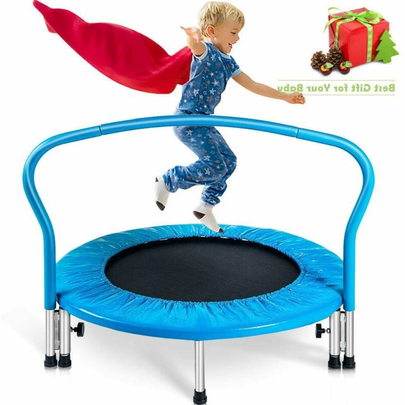 "Merax 36"" Kid'S Mini Exercise Trampoline Portable Trampoline"