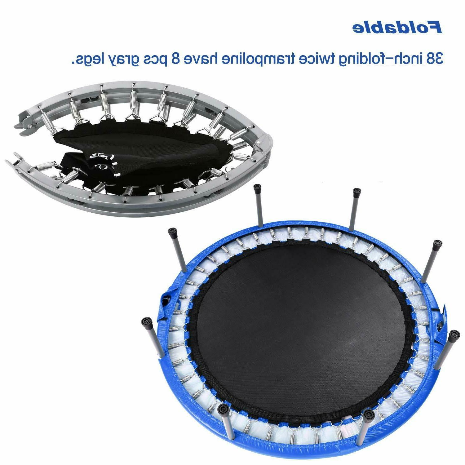 Ancheer 38Inch Exercise Fitness Rebounder Trampoline Max. Load