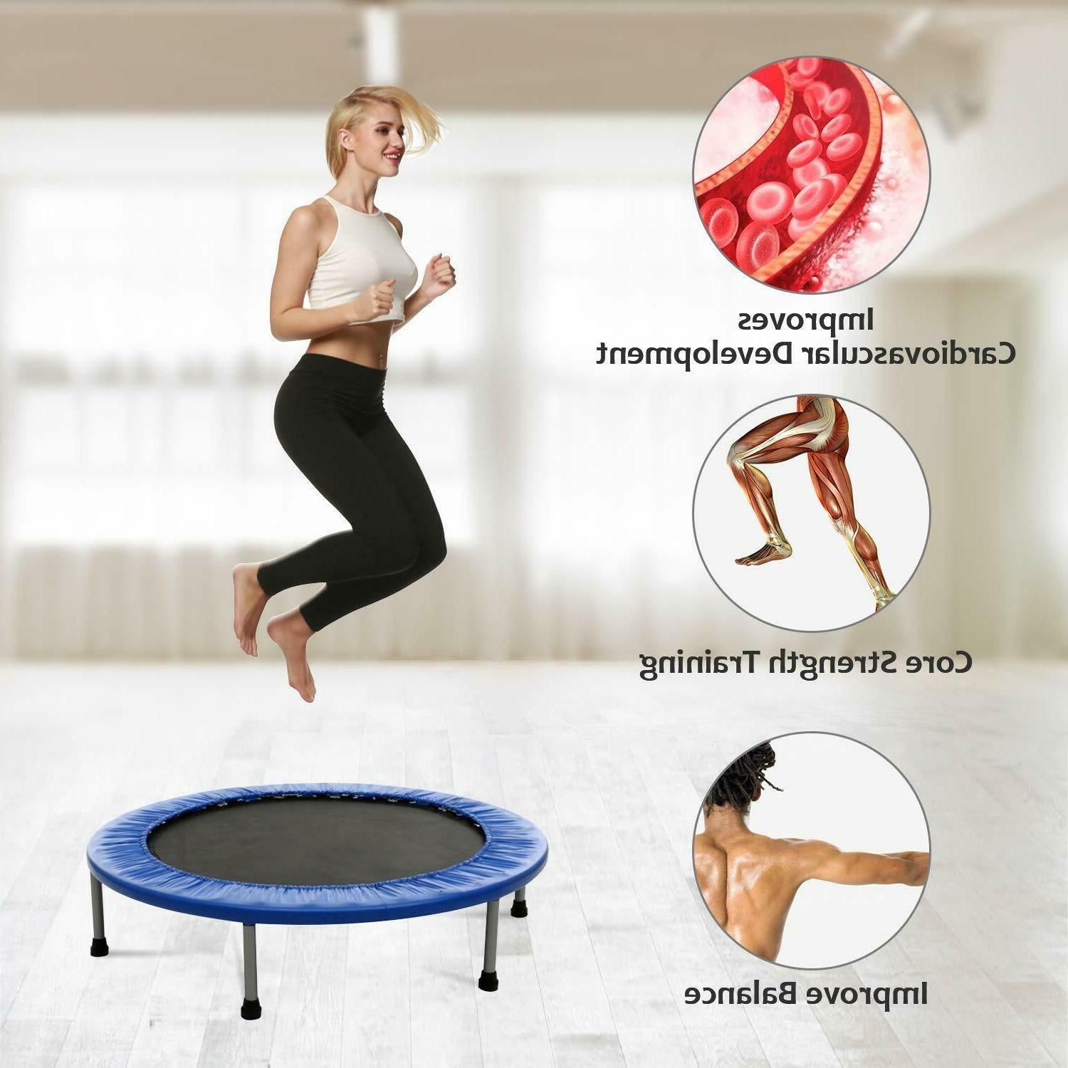 Ancheer Exercise Fitness Rebounder Max. Load 220LBS