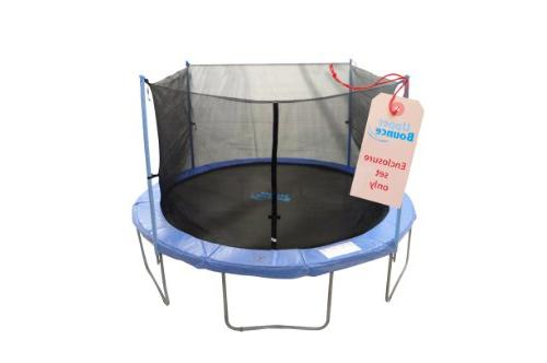 4 pole trampoline safety enclosure