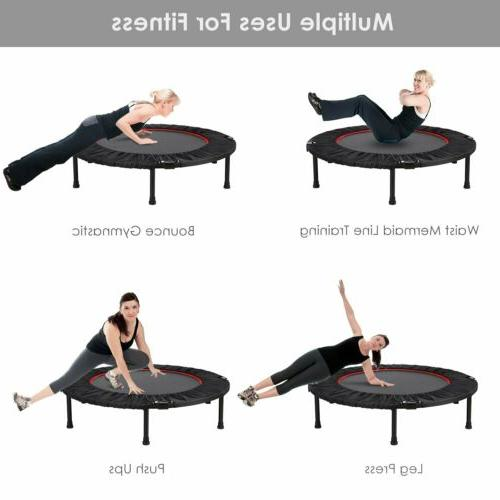Foldable 40'' Fitness Home Fun Rebounder Storage