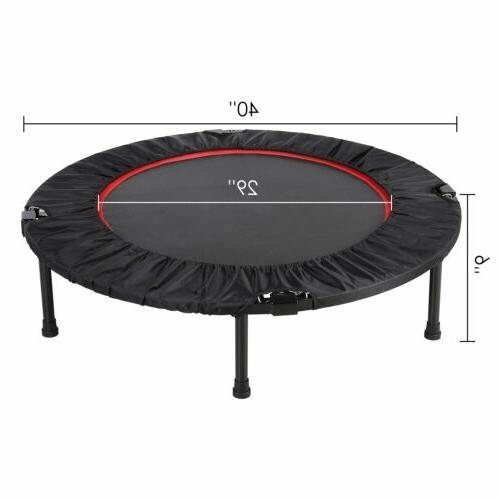 Foldable 40'' Home Rebounder w/