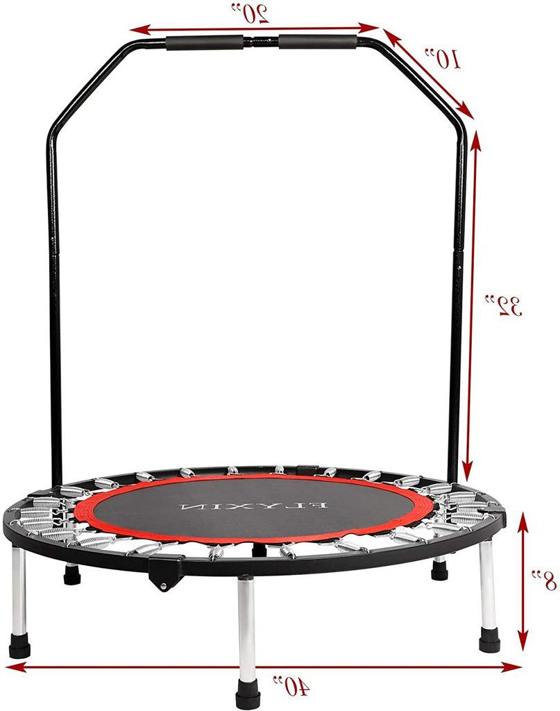 """KARMAS 40"""" Trampoline Bounce Trainer Exercise Fitness Gym"""