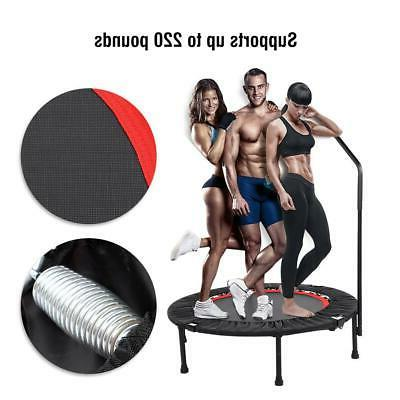40'' Mini Trampoline Exercise Fitness Handrail