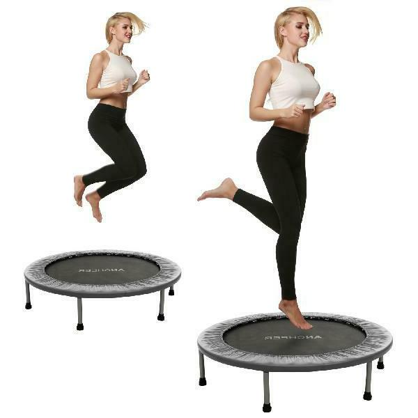 Ancheer 40inch Trampoline Indoor Garden Trampoline Around - Maximum