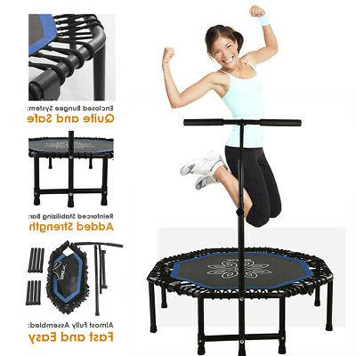 44 exercise fitness rebounder trampoline home workout