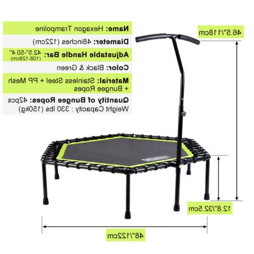 "48"" Mini Exercise Gym Rebounder Cardio Trainer OT064"