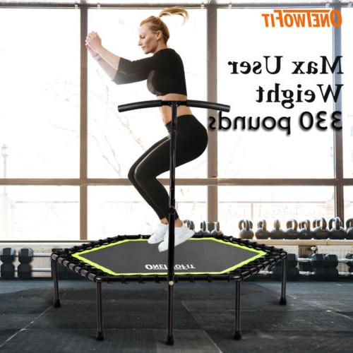 48 mini trampoline fitness exercise gym rebounder