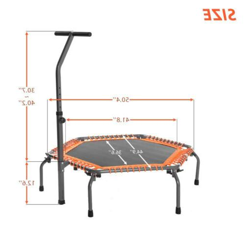 "Merax 44"" Mini Trampoline Fitness Exercise Cardio"