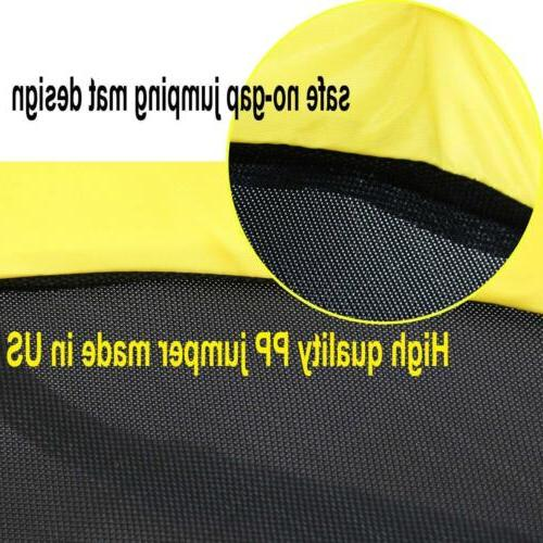 """60"""" Round with Safety Enclosure yellow"""