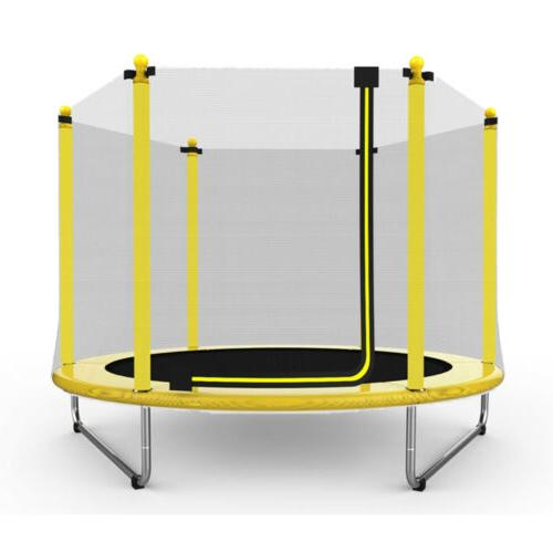 60 round youth kids trampoline combo w