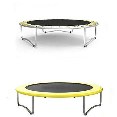 """60"""" Trampoline with Net yellow"""