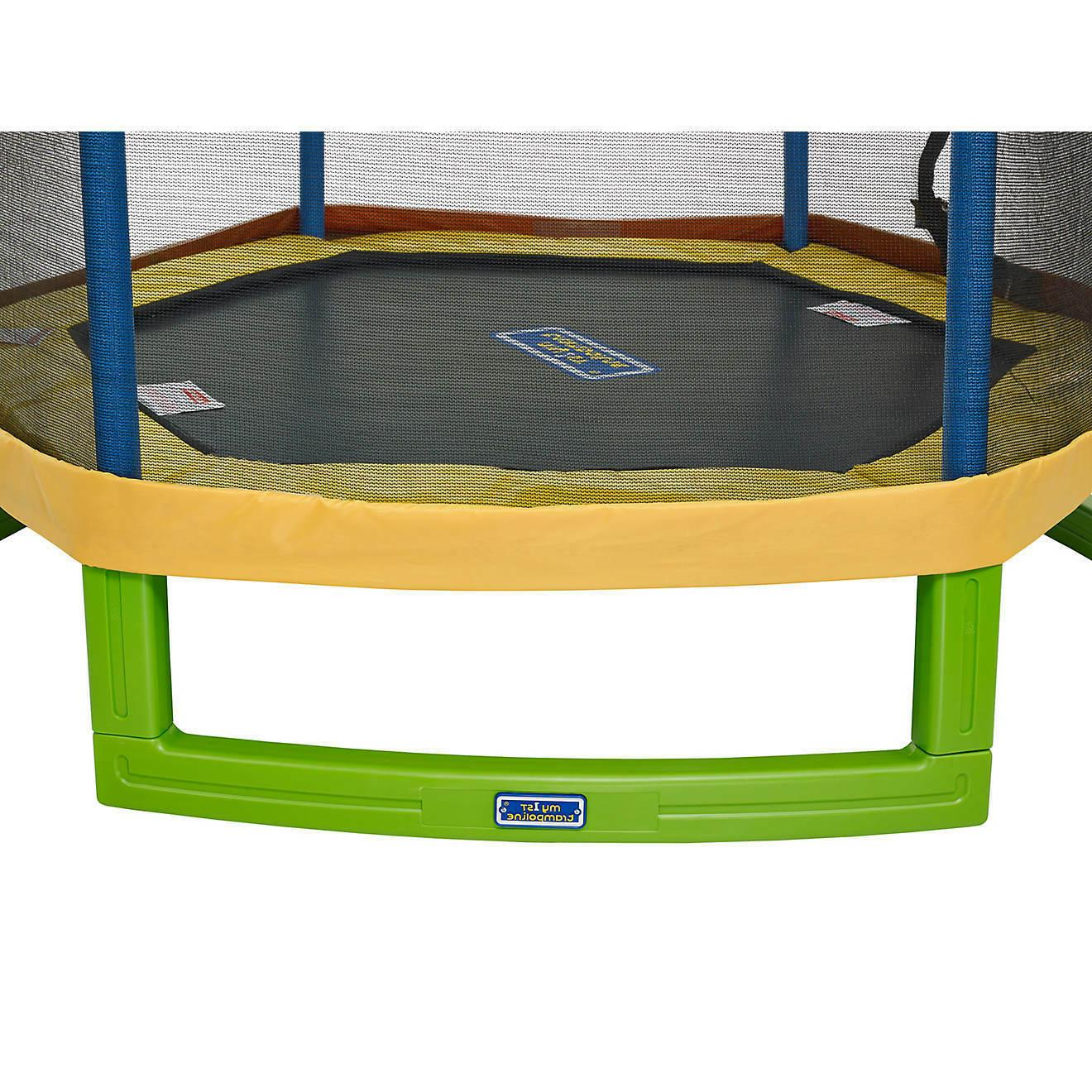 JumpZone First Trampoline Enclosure Net Combo Bounce