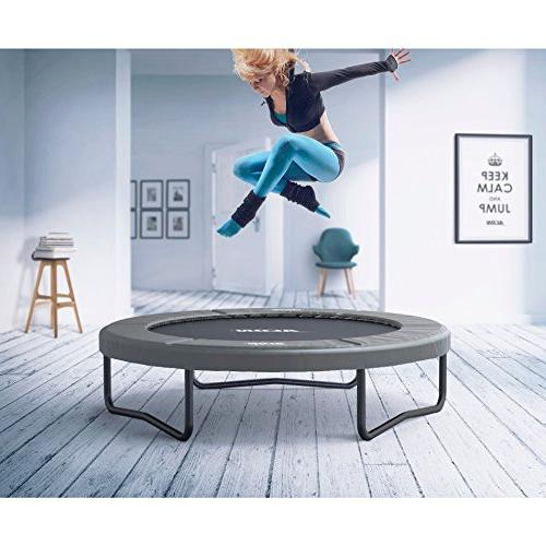 Acon Air 1.8 Fitness or Recreational Trampoline 6ft Both Indoor and Outdoor Use Fun Exercise for Adults and Kids Year-Around
