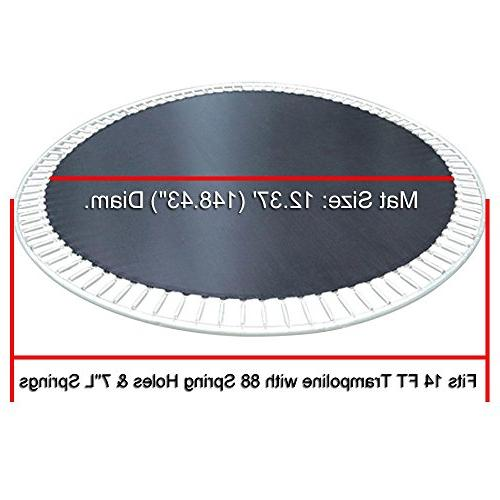 AW 12.37' Mat Trampoline 88Ring 8 Row