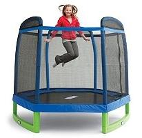 My First Indoor/Outdoor Trampoline Combo with Enclosure - 84