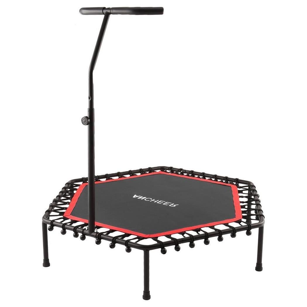 <font><b>ANCHEER</b></font> Fitness <font><b>Trampoline</b></font> Folding Height Indoor Professional