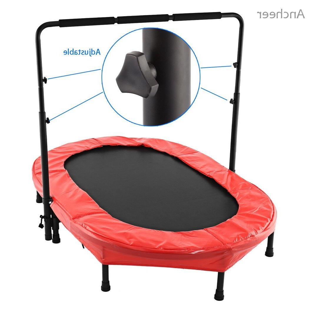 <font><b>ANCHEER</b></font> Twin <font><b>Trampoline</b></font> Bed with Safety Adjustable kids