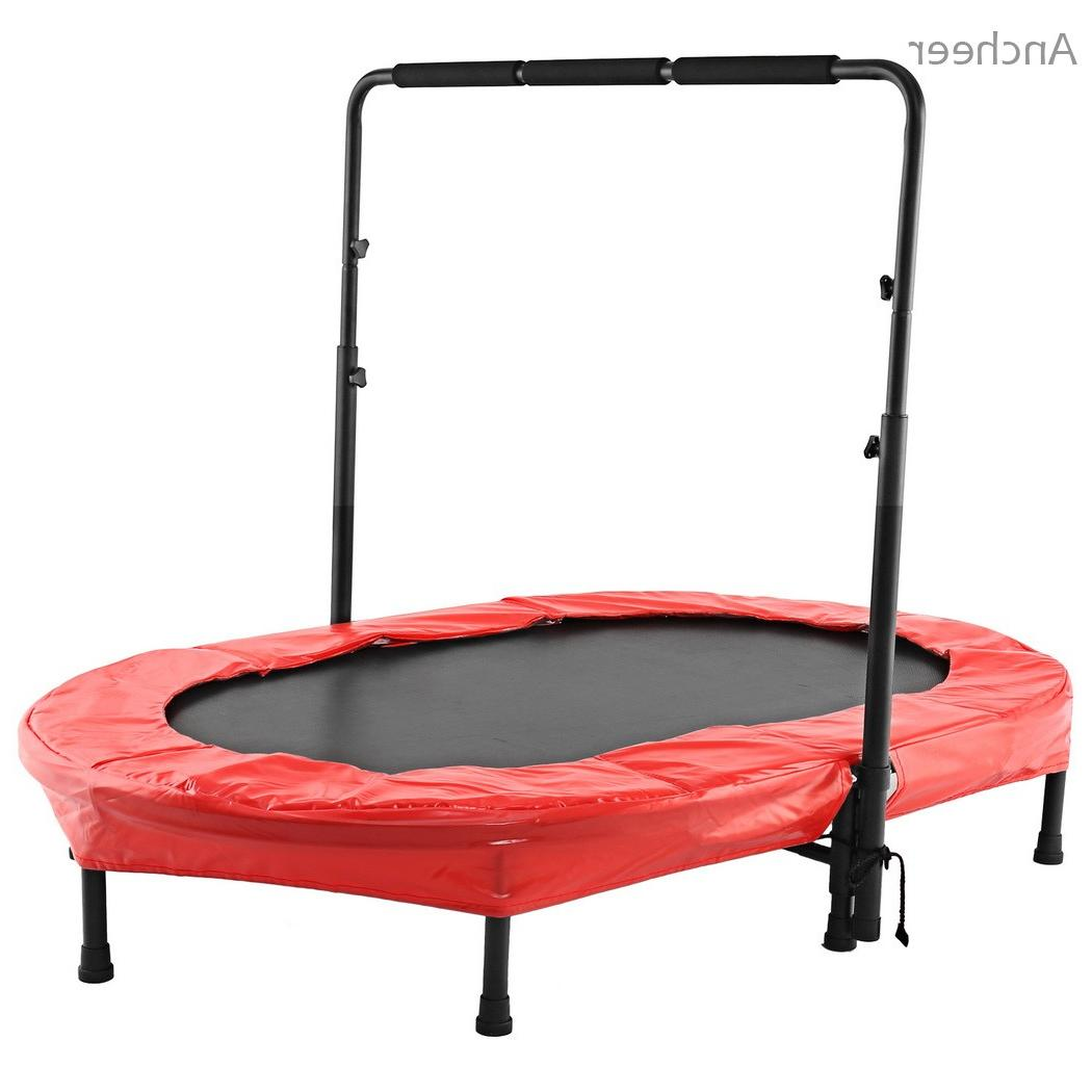 <font><b>ANCHEER</b></font> Twin <font><b>Trampolines</b></font> Bed Adjustable for 2 kids