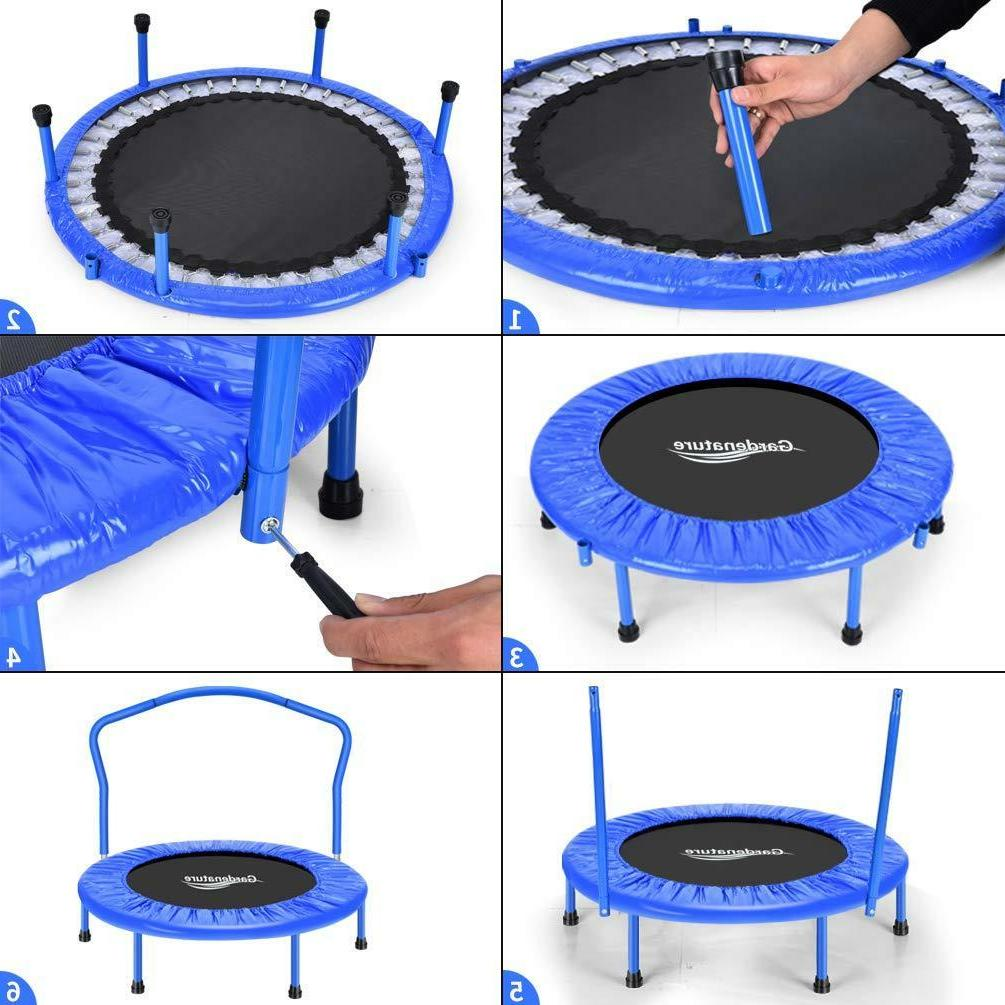 """Gardenature Trampoline-36 Trampolines For Sports """" Outdoors"""