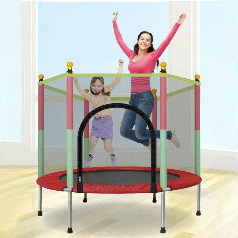 5ft kids mini jumping round trampoline exercise