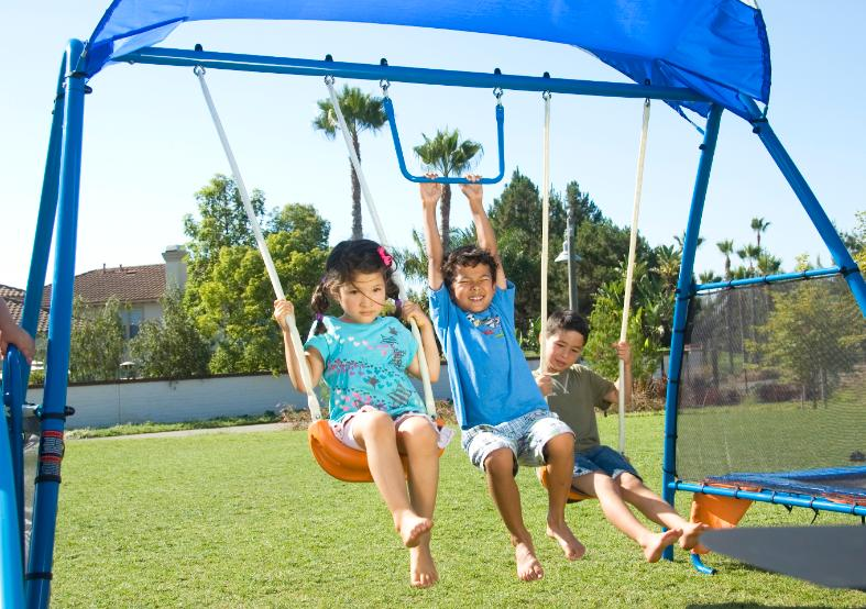 Swings Slide Fitness Equipment Play