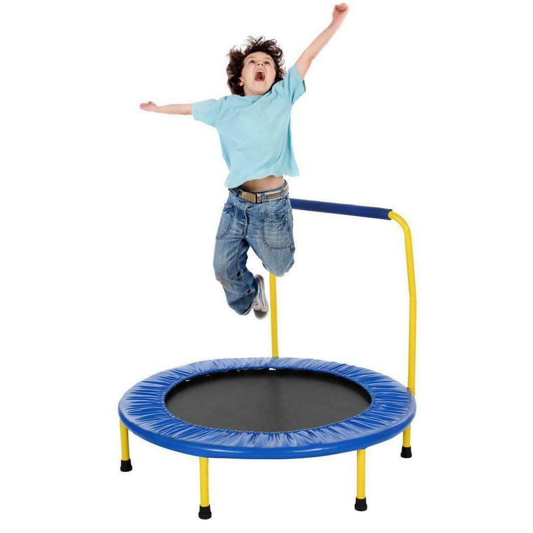 ANCHEER Mini with Handrail, Trampoline for