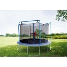 12ft Trampoline Netting for 3 Arches with Straps