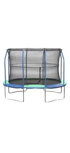 NEW JumpKing Oval Trampoline with Enclosure 8.5x11!! Blue Gr