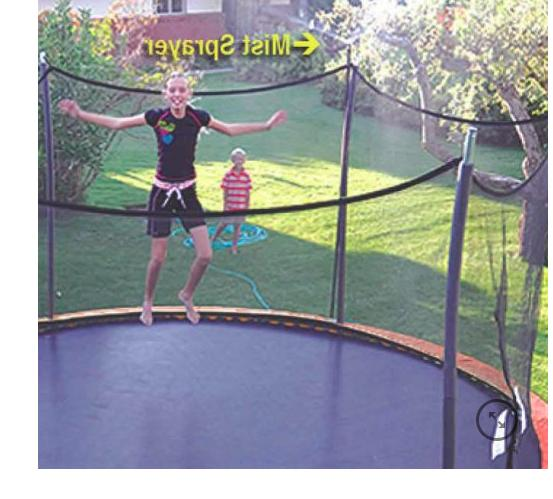 NEW P/U in NY Trampoline Ft. w/accessories Basketball Net