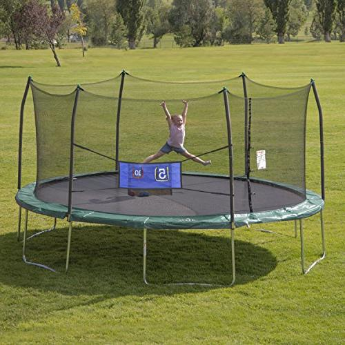 Skywalker Trampoline with Enclosure Includes Double – Added – or ASTM – Last