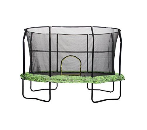 JumpKing Oval 8' x 12' Trampoline Graphic Pad, of