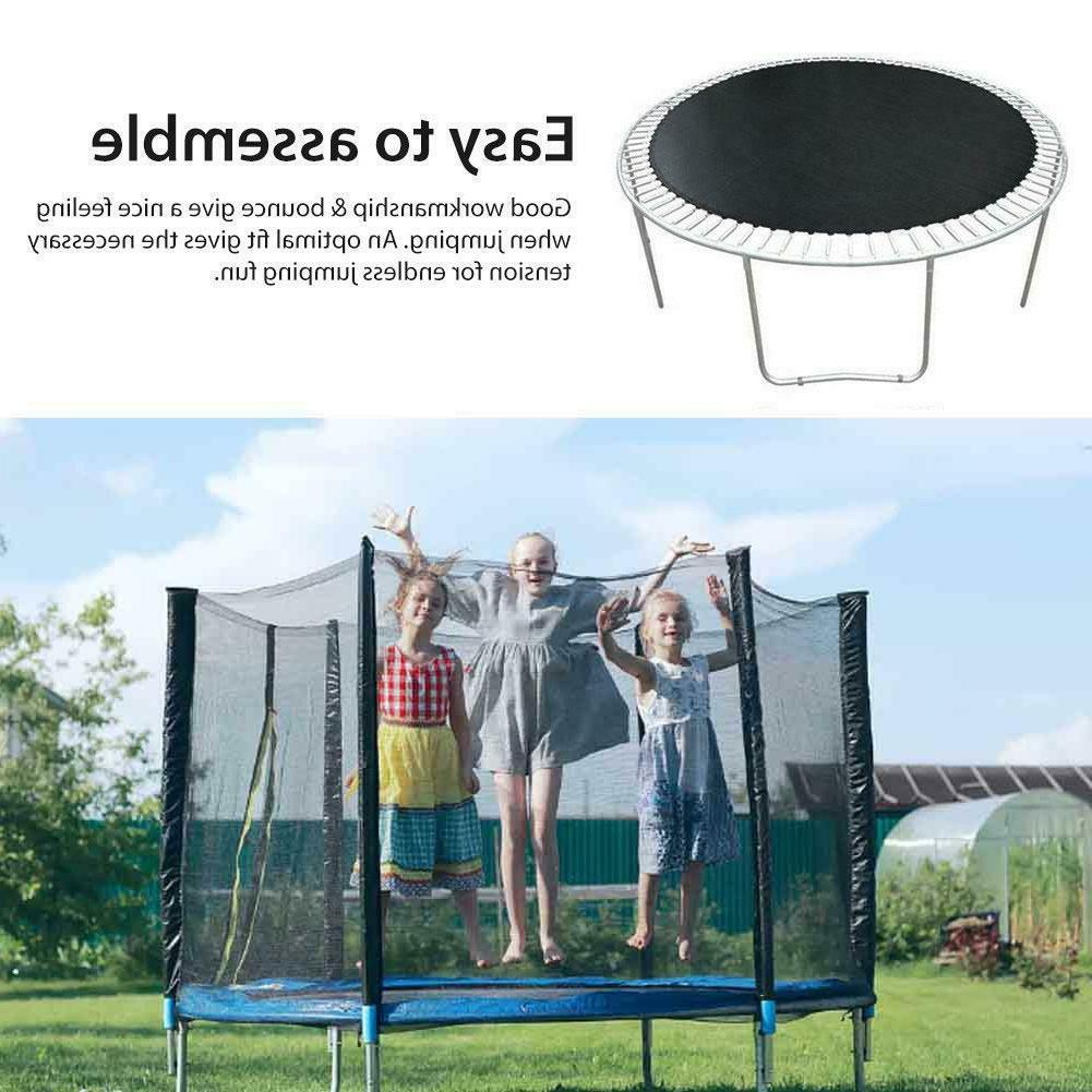 Replacement Bounce Jumping Mat Black for Trampoline