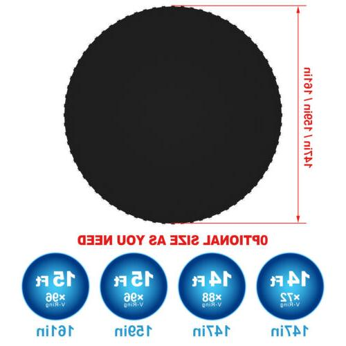 14/15ft Replacement Round Frame Black