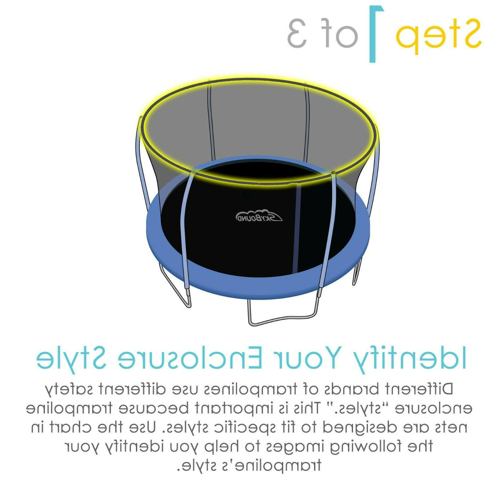 SkyBound Replacement Trampoline Safety Enclosure