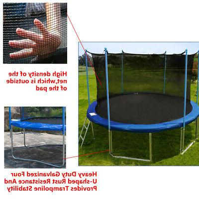 12 Round with Enclosure, Spring Ladder