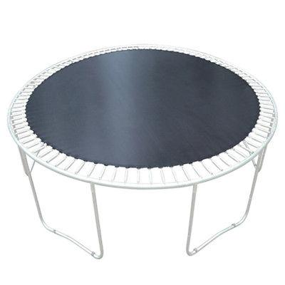 """Round Waterproof Trampoline Mat Replacement 15' Frame 96 Rings 7"""""""