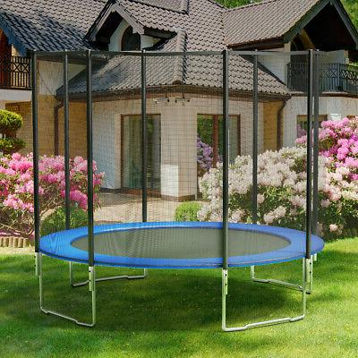 Safety Frame Blue Pad Pad Cover for Trampoline New