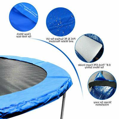 Safety Round Blue Pad Cover New