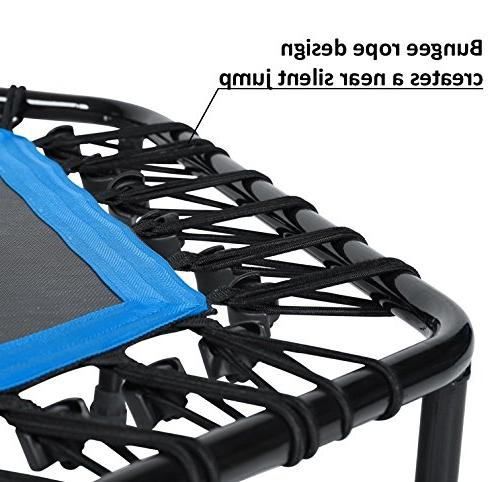 Bar / Bungees Indoor Rebounder Trampoline for Ideal Training Rope System Trainer, – Max