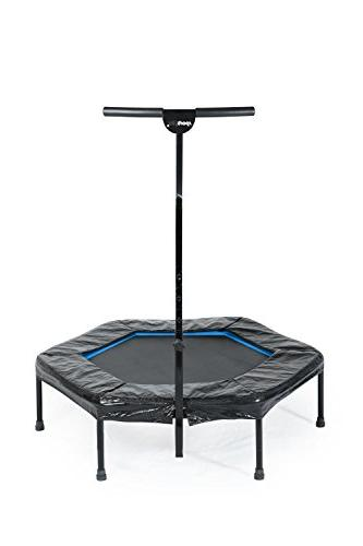 Bar / OR Bungees – Rebounder Trampoline for Adults Ideal for Cardio Training Bungee Rope Silent – Max