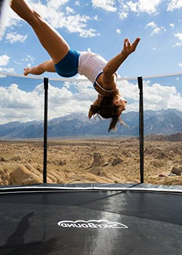 SkyBound 15 Trampoline with Updated Safety Net for ASTM Safety -
